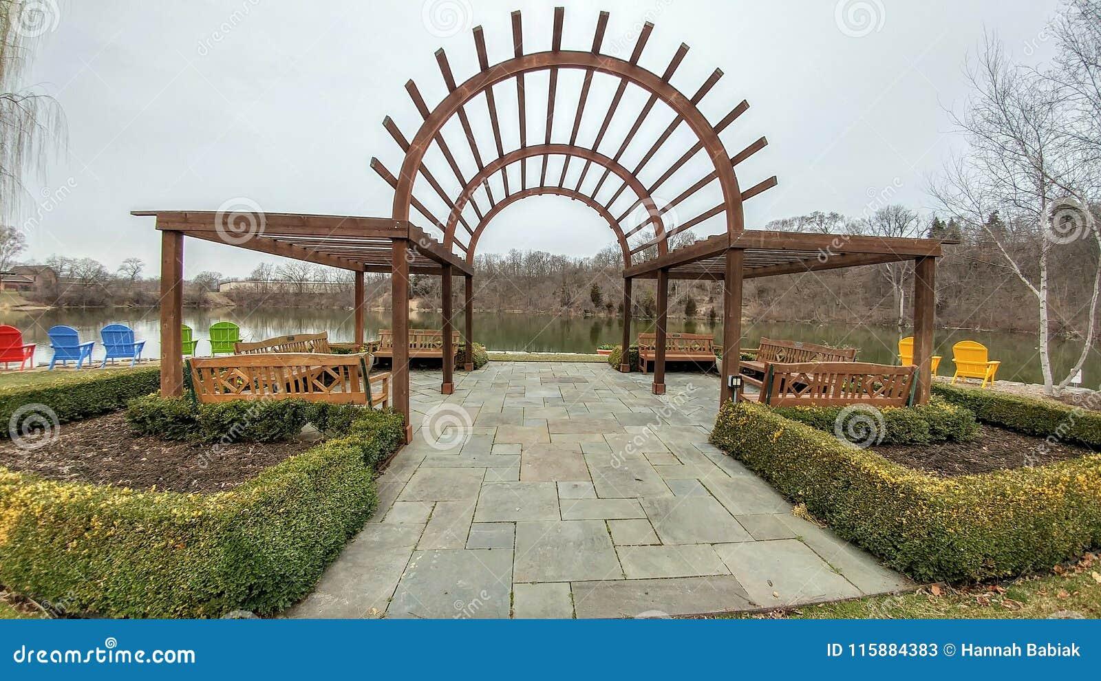 Roterande trädgårdar - Janesville, Wisconsin