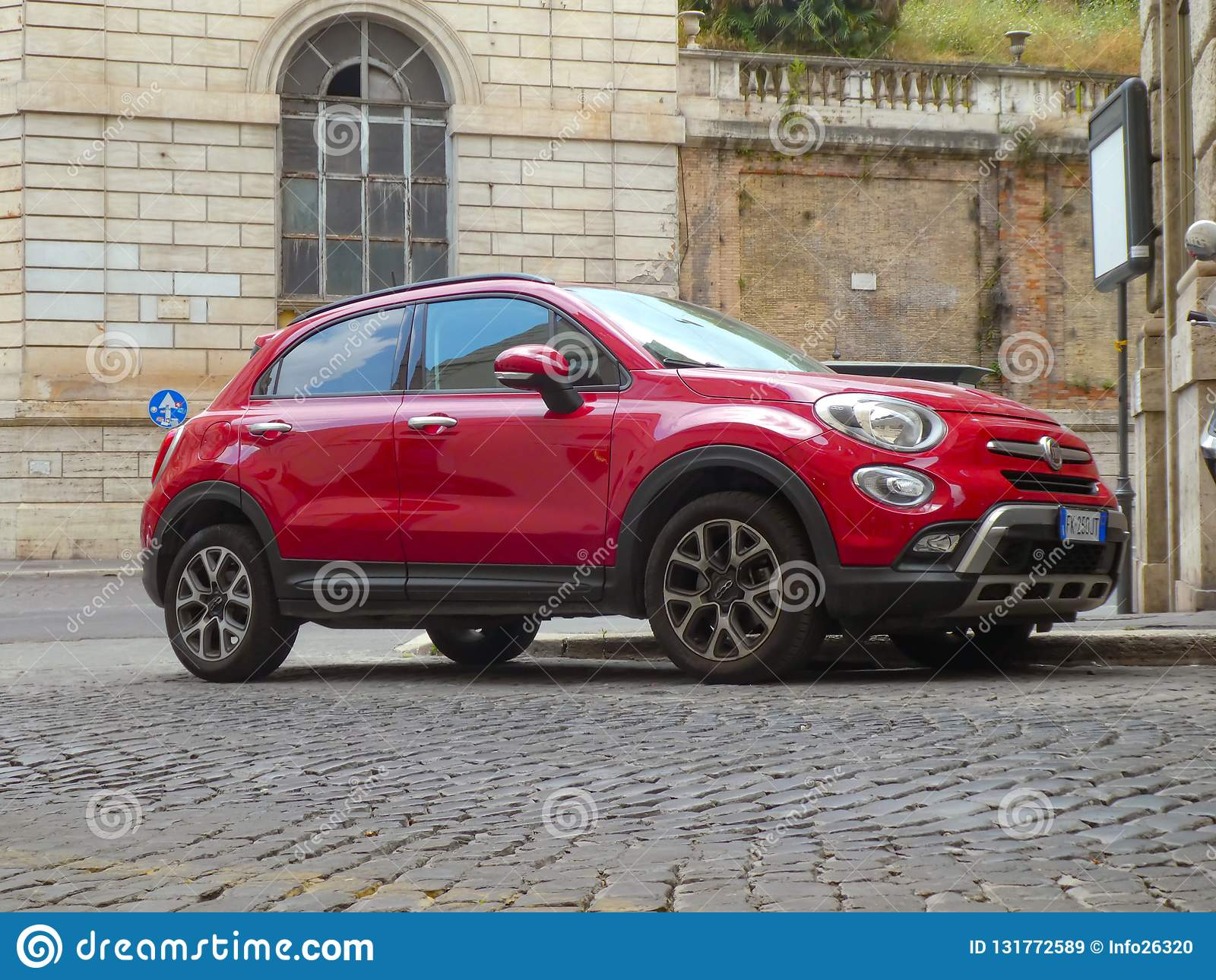 3 rad auto italien