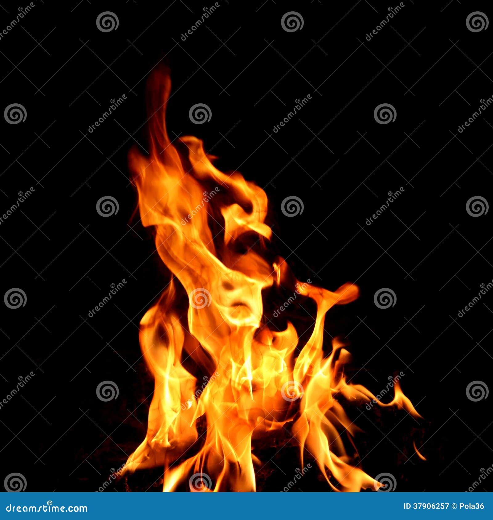 rotes feuer und flamme stockbild bild von hitze kamin 37906257. Black Bedroom Furniture Sets. Home Design Ideas
