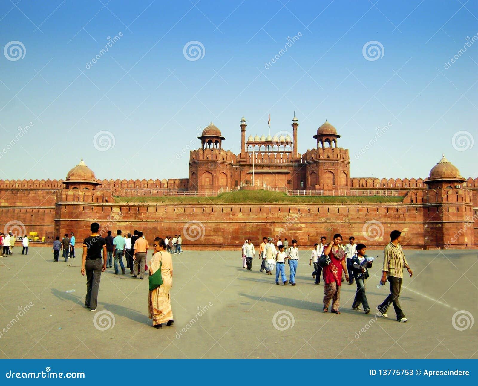 Rotes Fort - Neu-Delhi - Indien