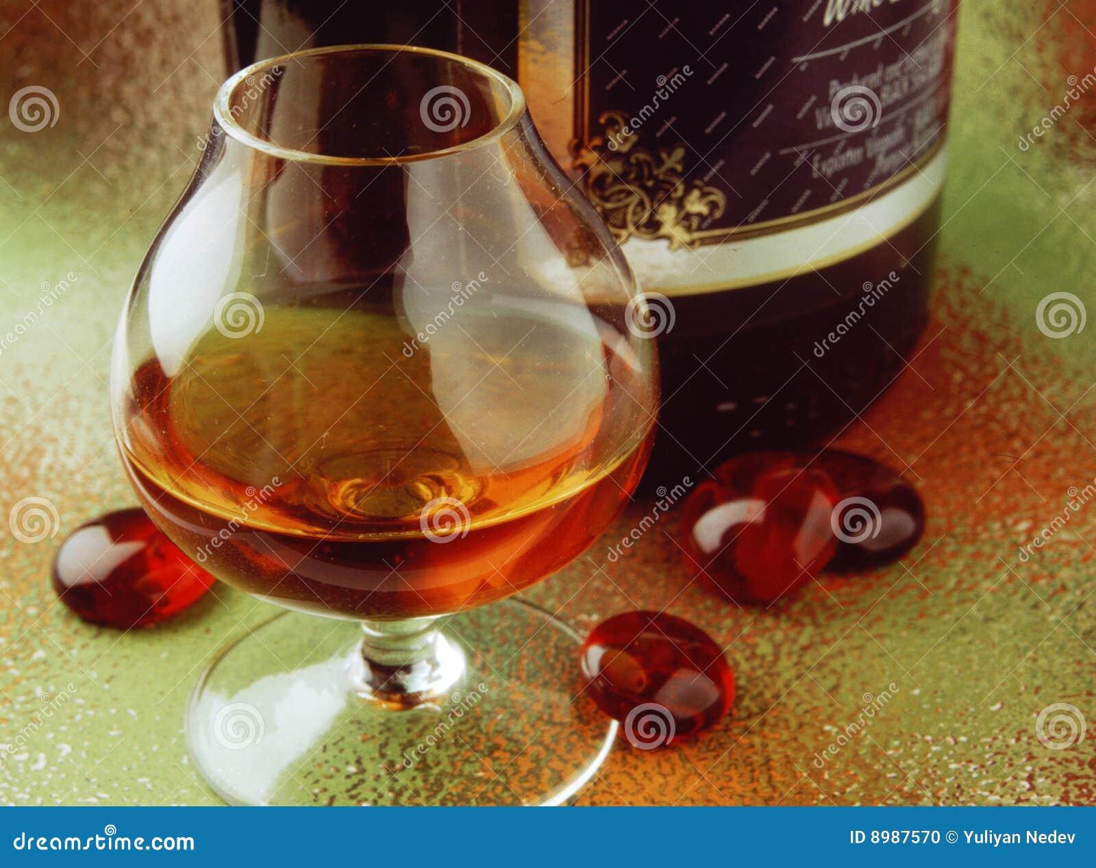 Rotes Getränk