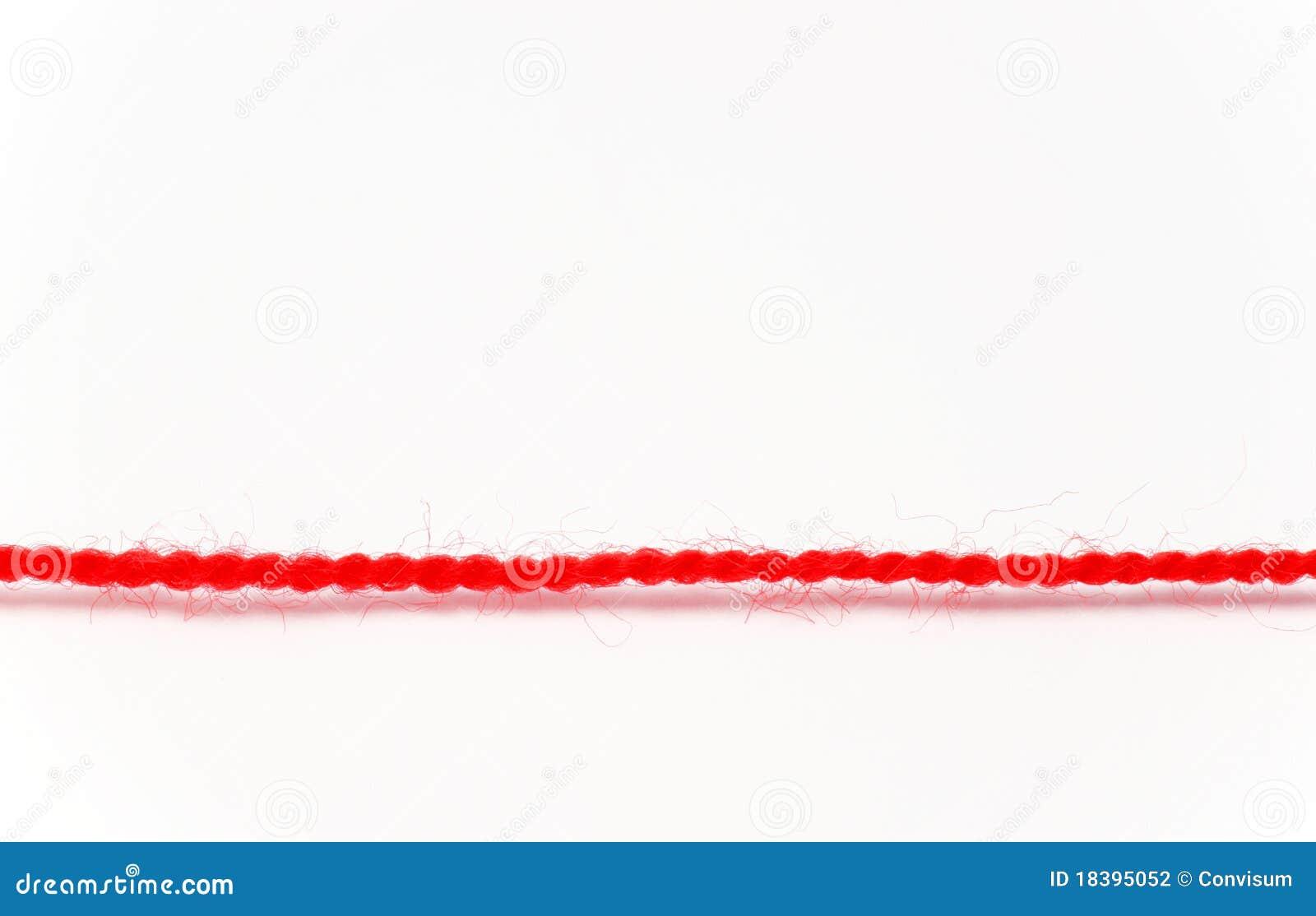 Rotes Gewinde