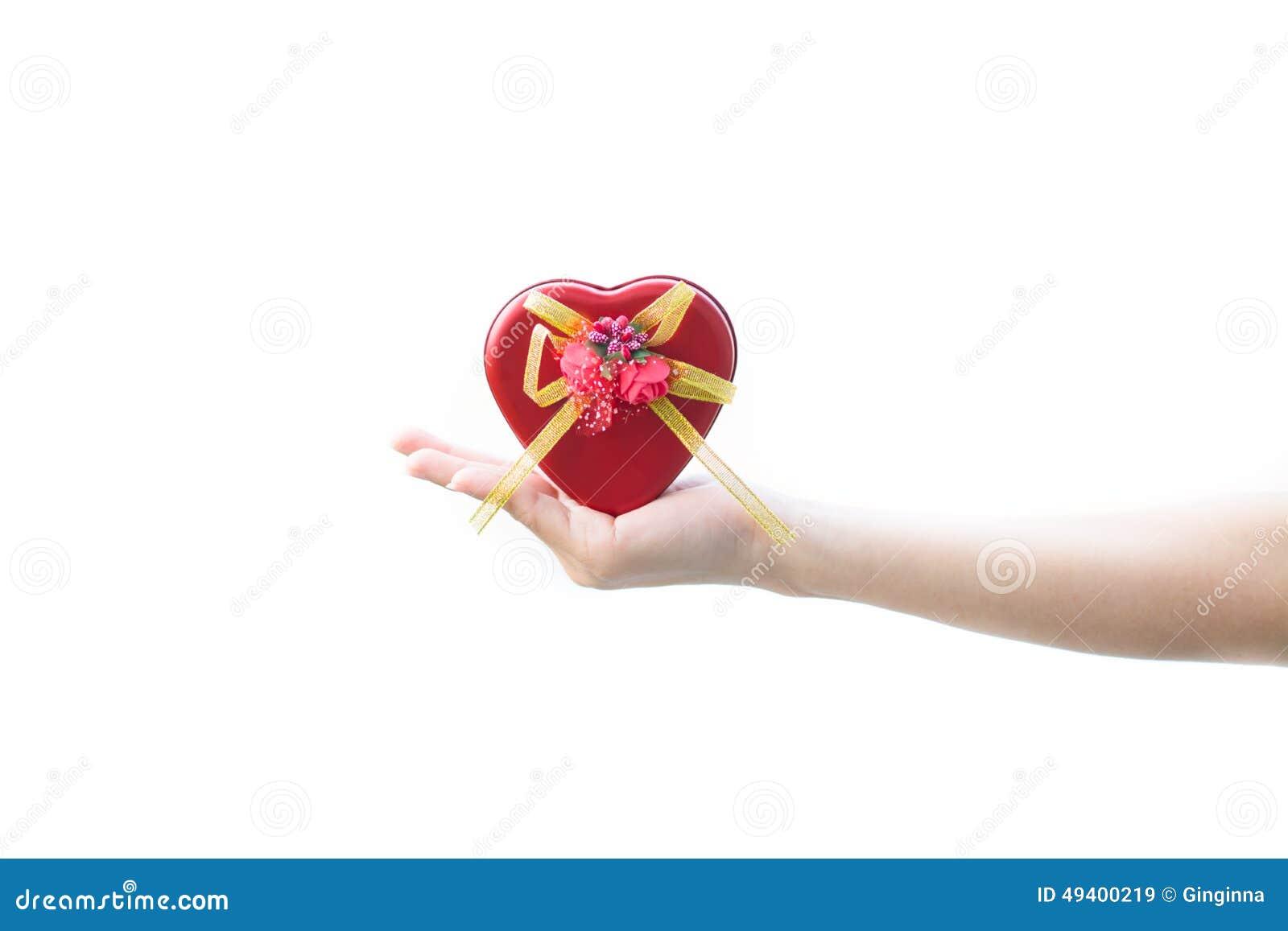 Download Rotes Herz stockbild. Bild von auszug, floral, romantisch - 49400219
