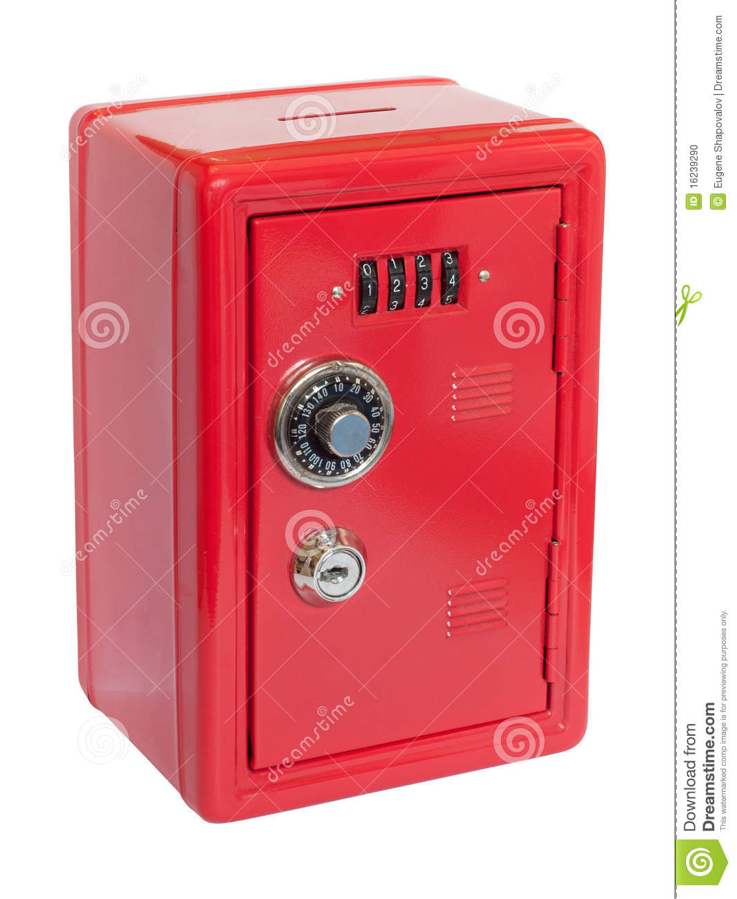Rotes moneybox Safe