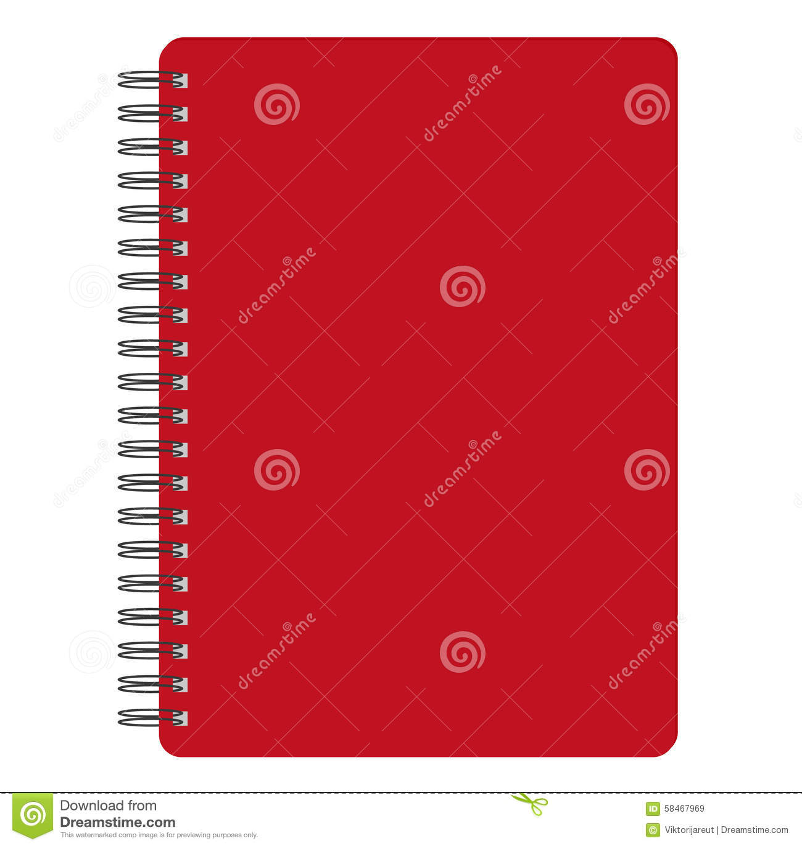 Rotes Notizbuch