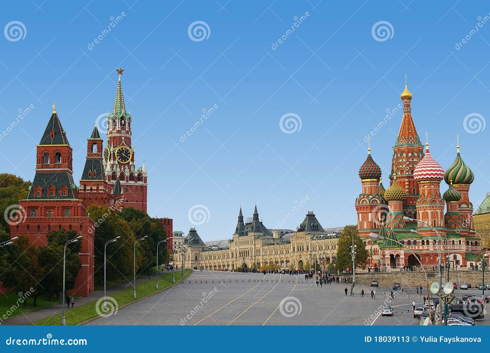Rotes Quadrat in Moskau