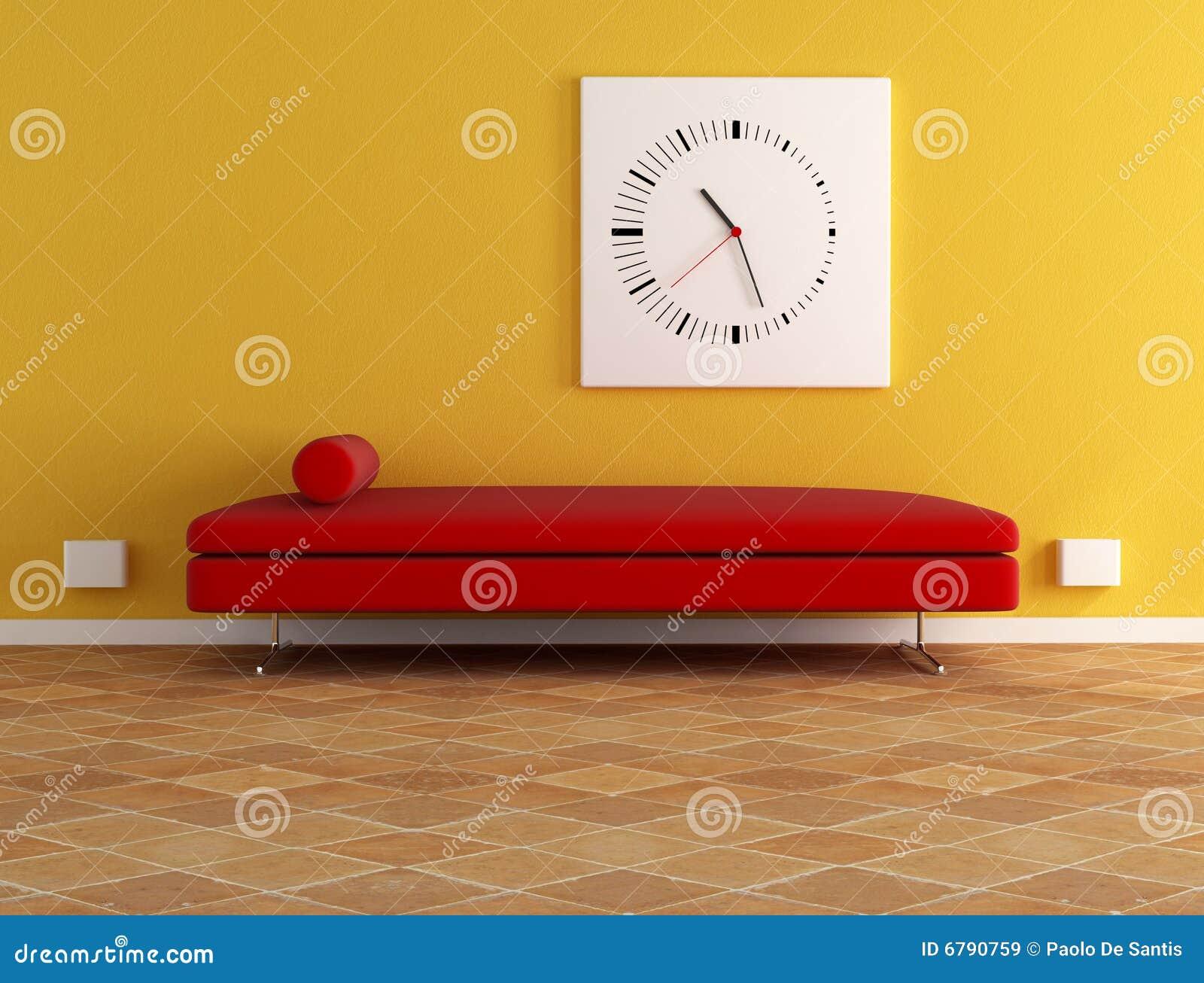 rotes samtsofa lizenzfreie stockbilder bild 6790759. Black Bedroom Furniture Sets. Home Design Ideas