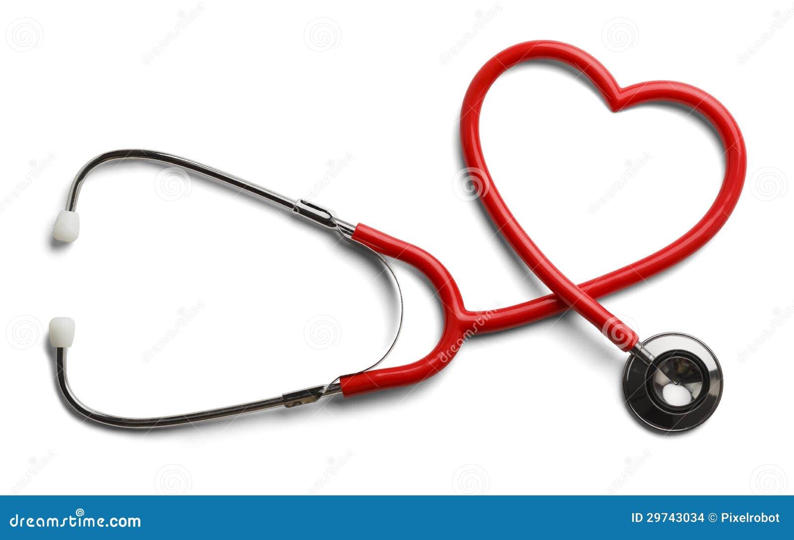 Herz-Stethoskop