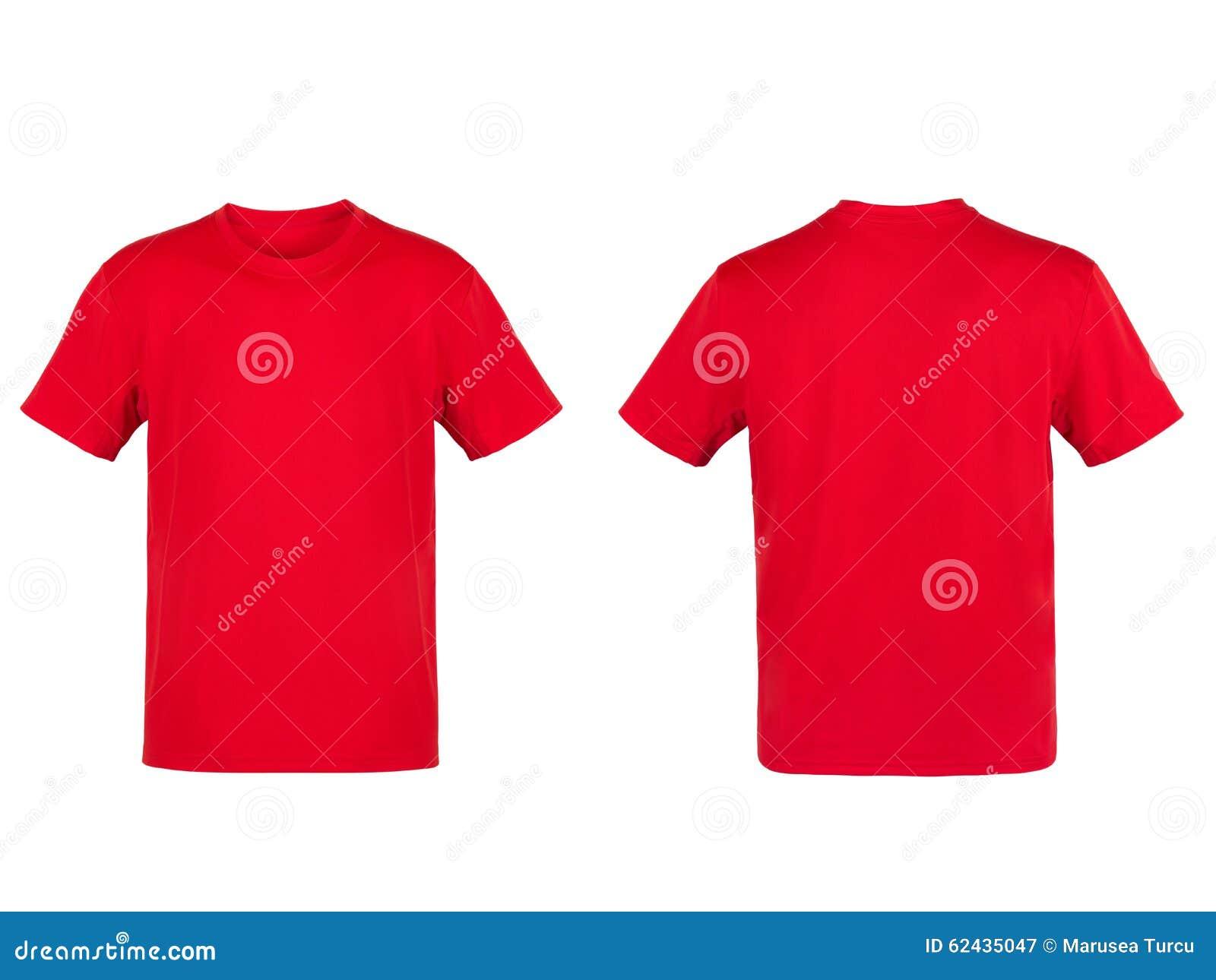 Rotes T-Shirt stockbild. Bild von flach, kunst, gewebe - 62435047