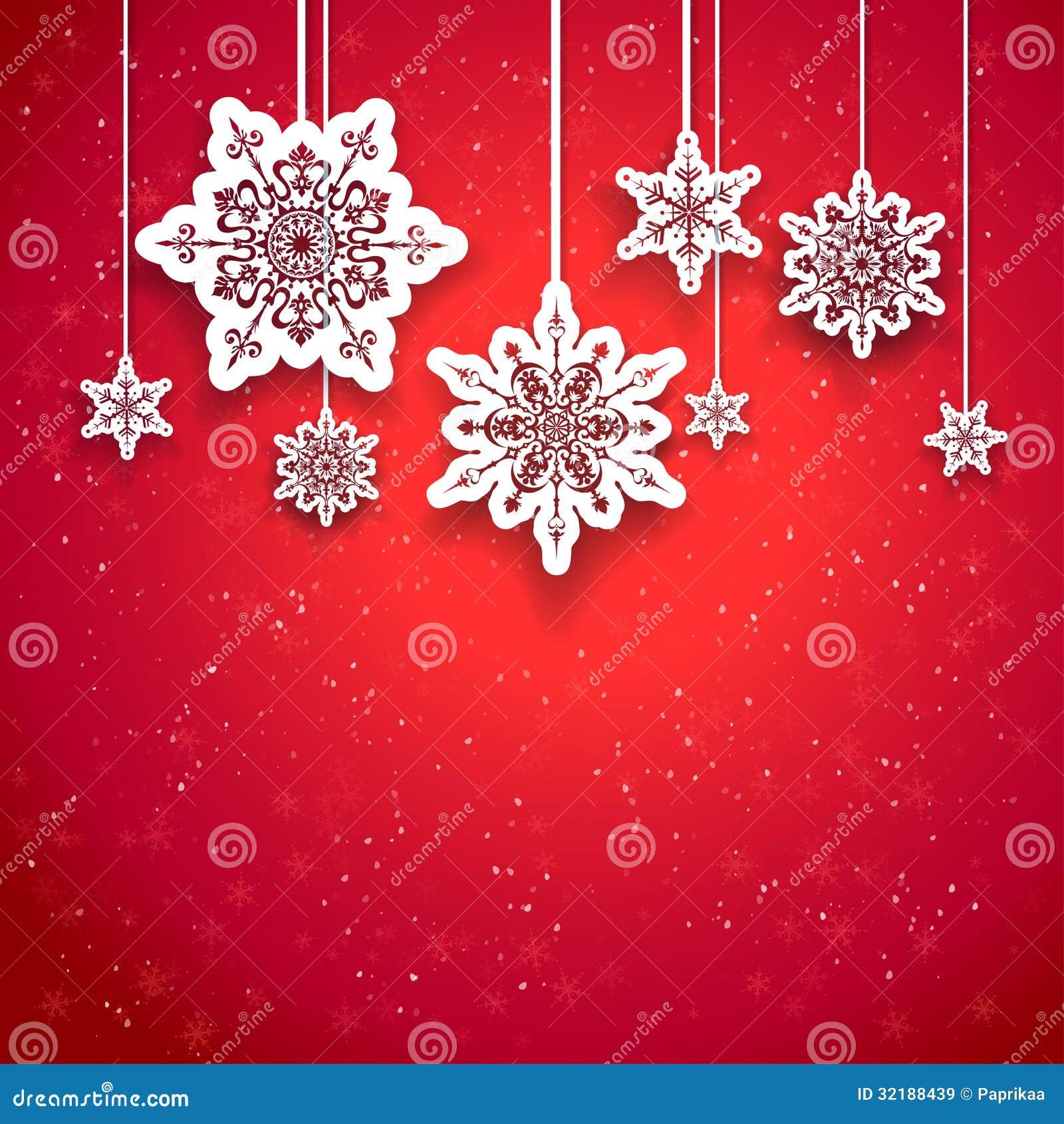 Rotes Weihnachtsdesign Lizenzfreie Stockbilder Bild