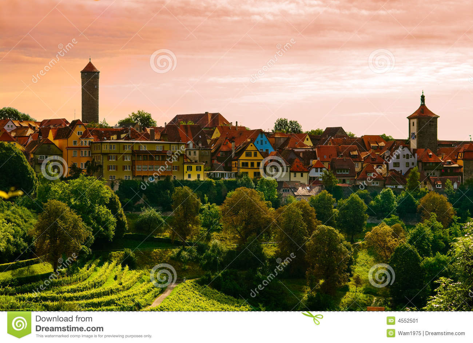 Rothenburg πόλη