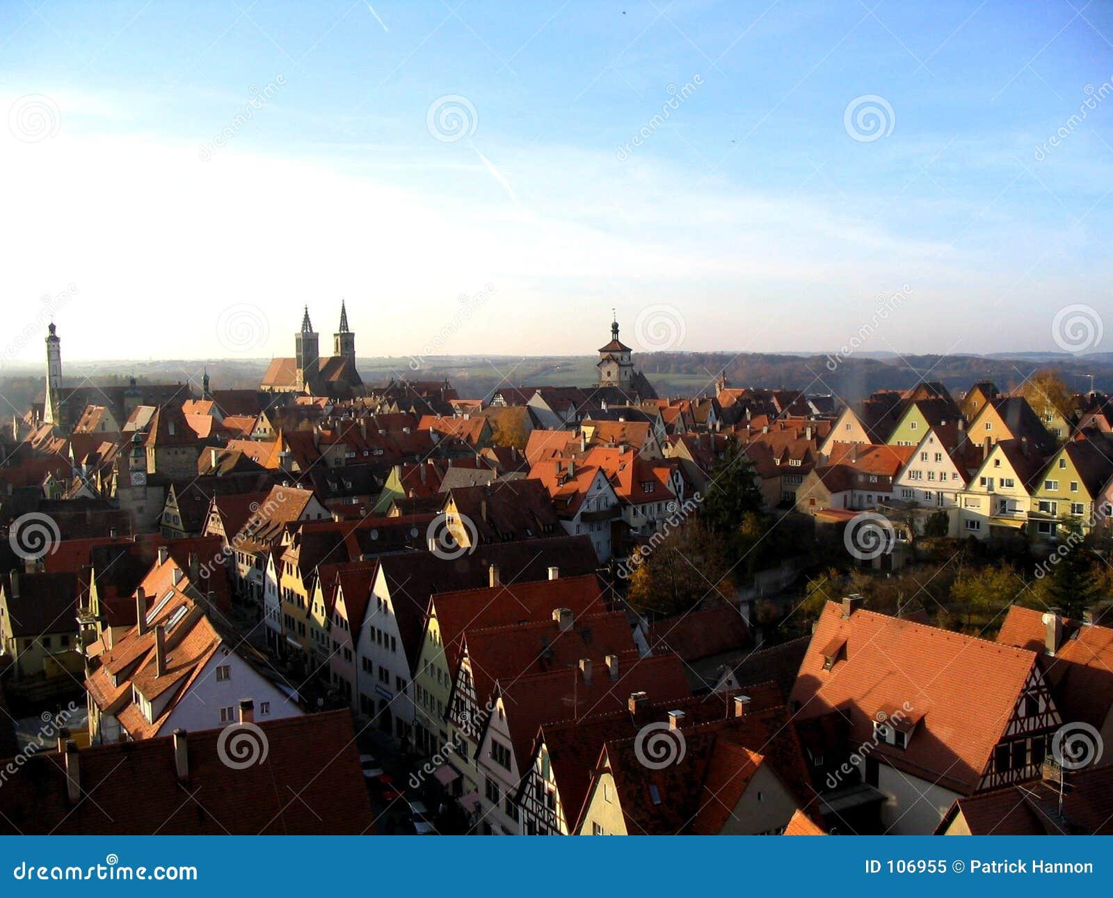 Rothenburg City View