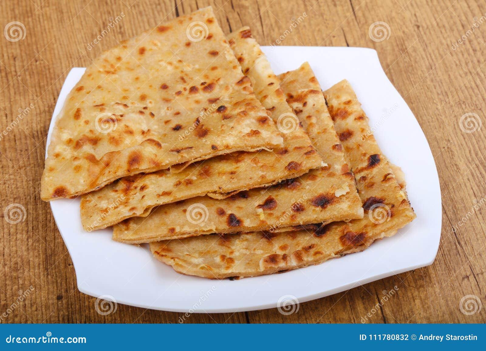 Roti indiano do pão