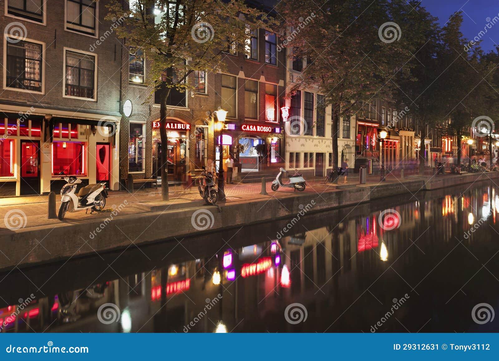 amsterdam redlight street
