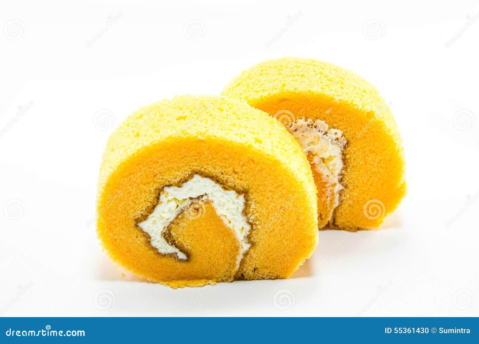 Rotolo arancio del dolce