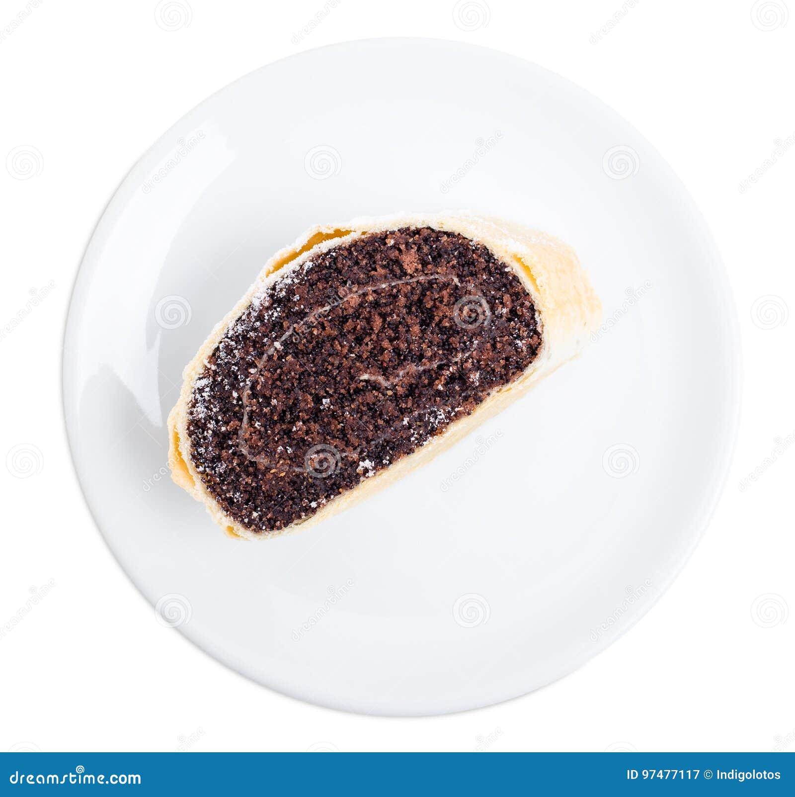 Rotolo delizioso del seme di papavero