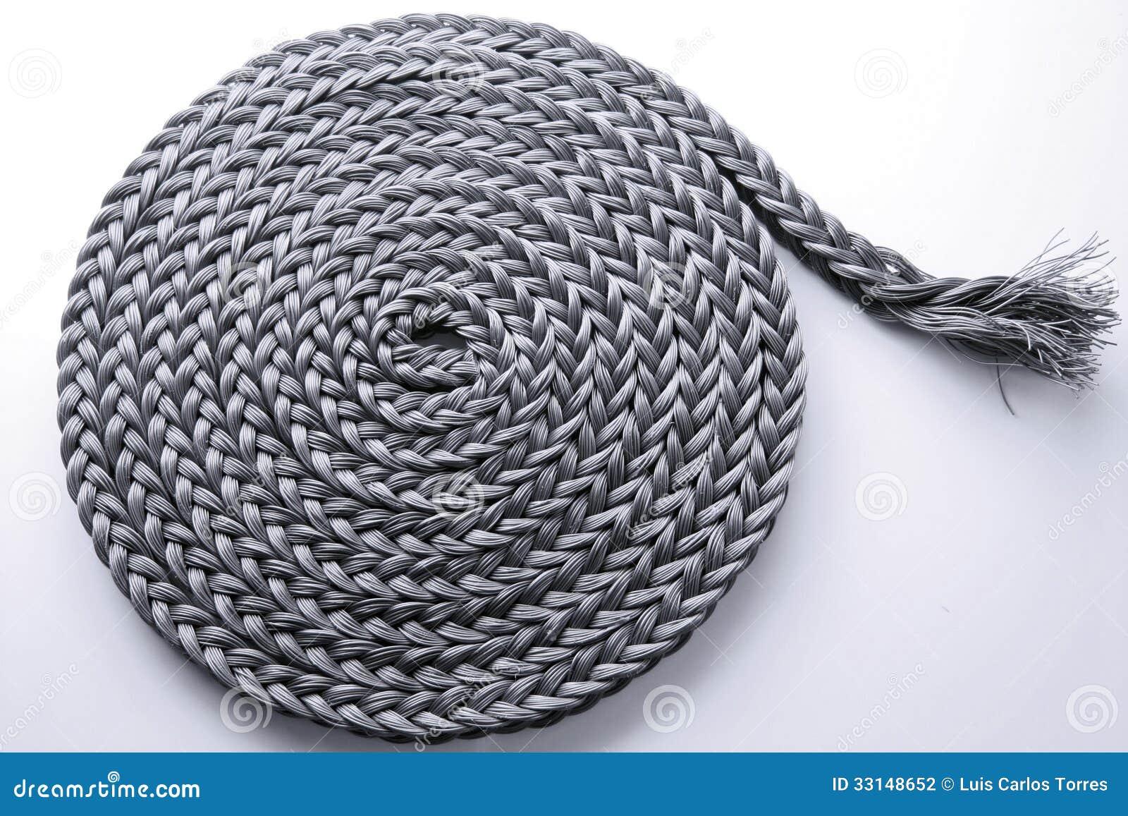 Rotolo intrecciato della corda