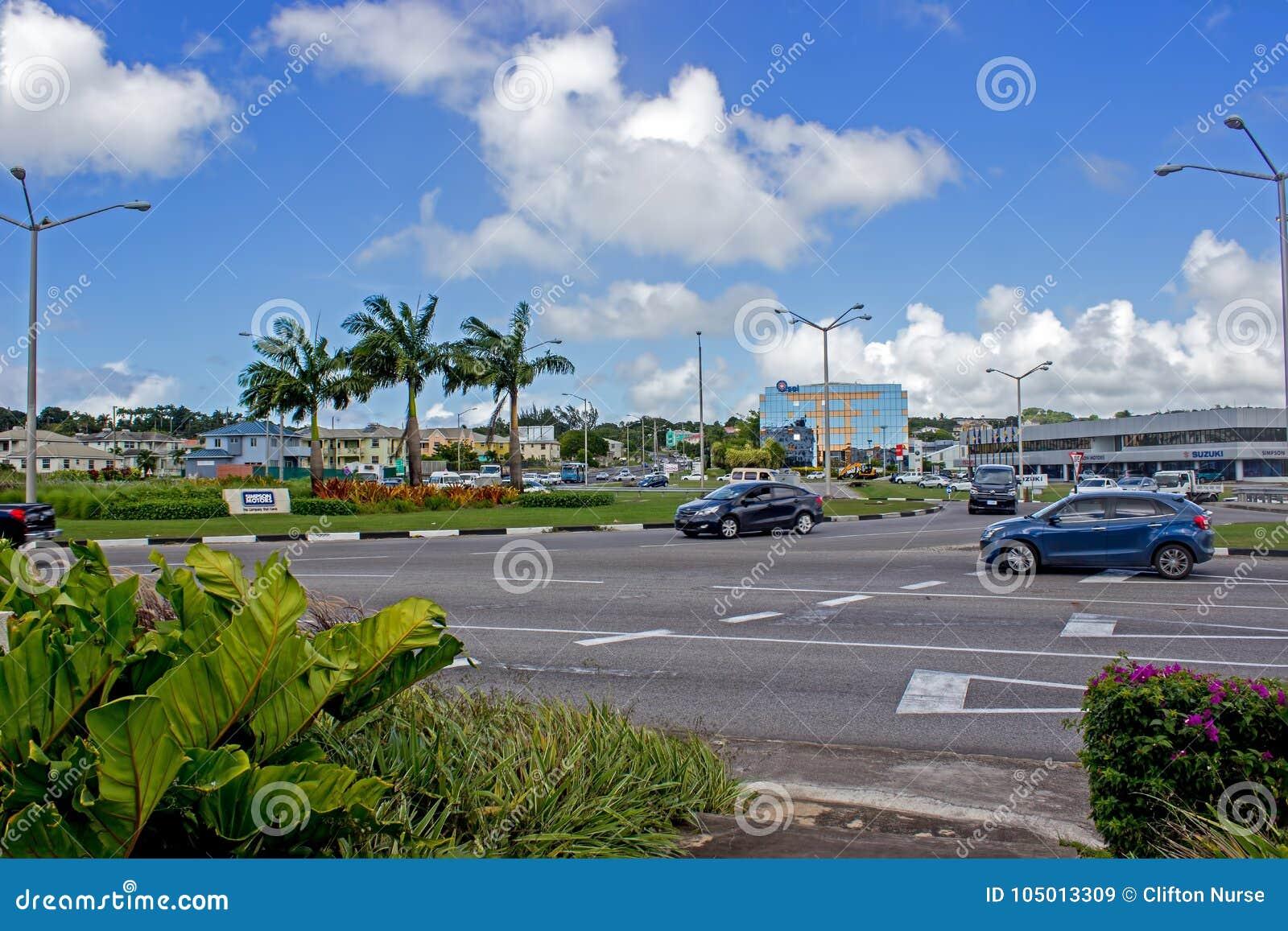 Rotonda commerciale di area dei labirinti, Barbados