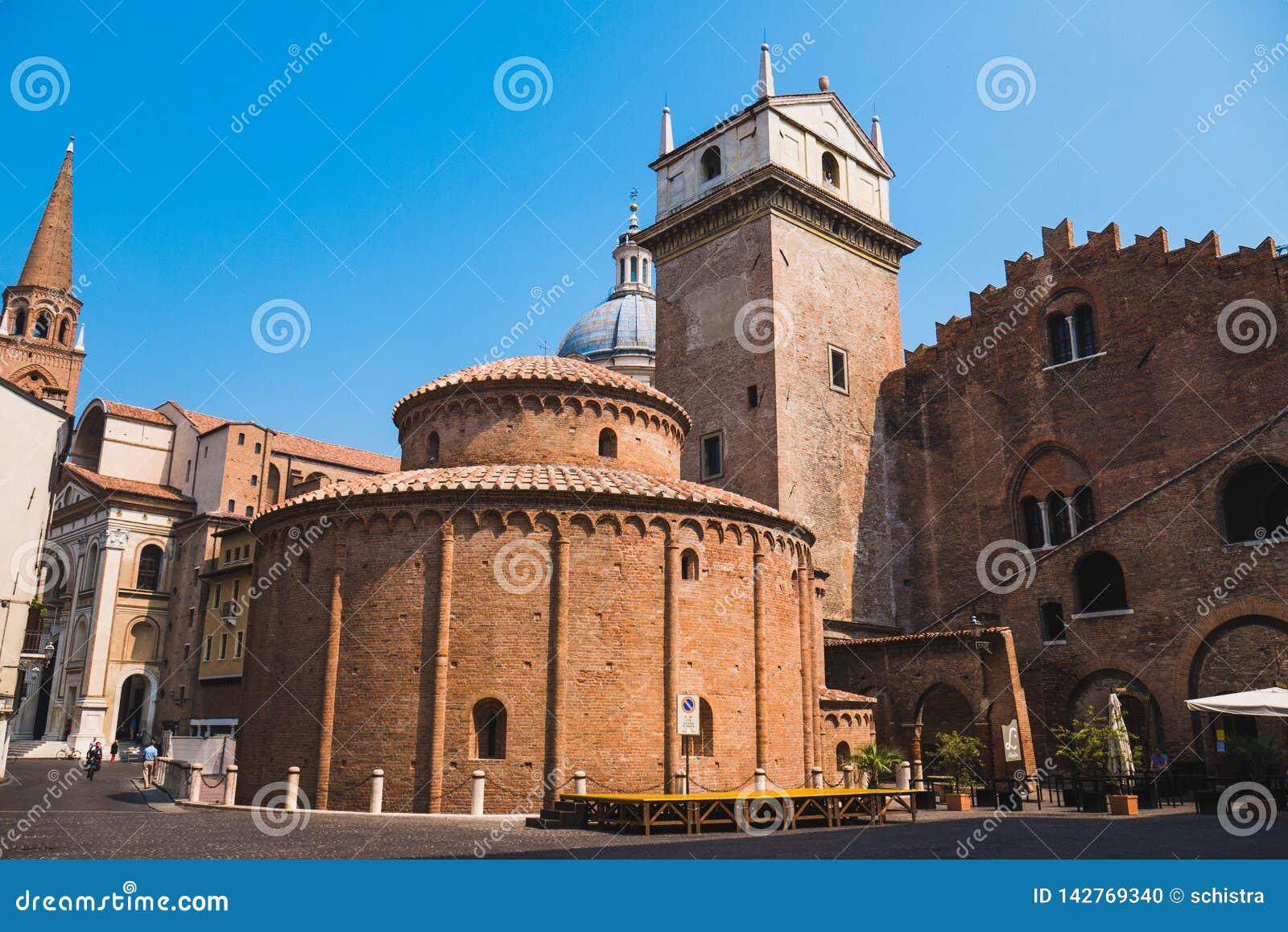 Rotonda di San Lorenzo church in Mantua
