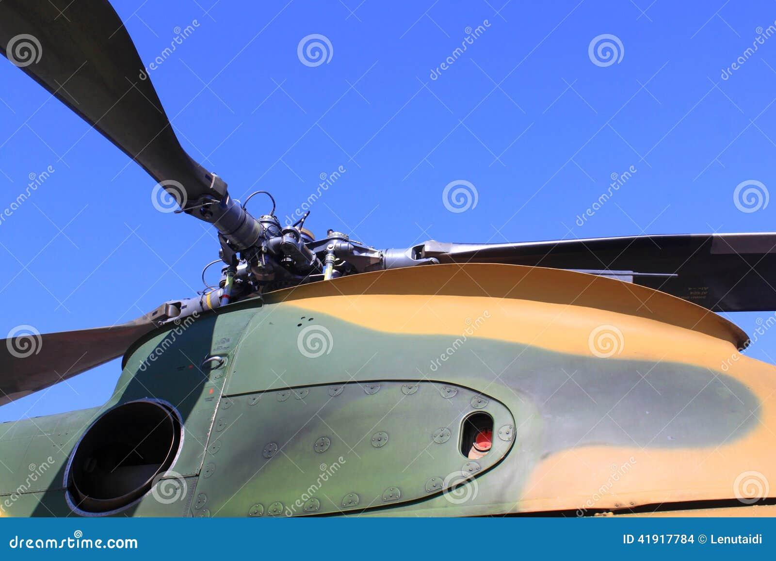 Rotores del helicóptero
