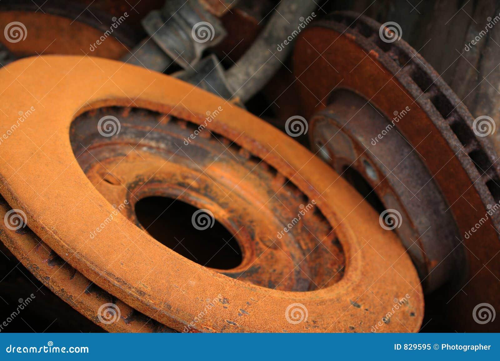 Rotores do freio, peças do carro