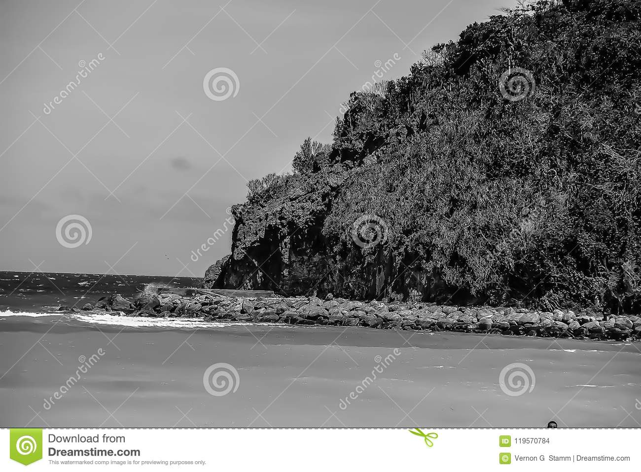 Rots Outcropping in Boracay