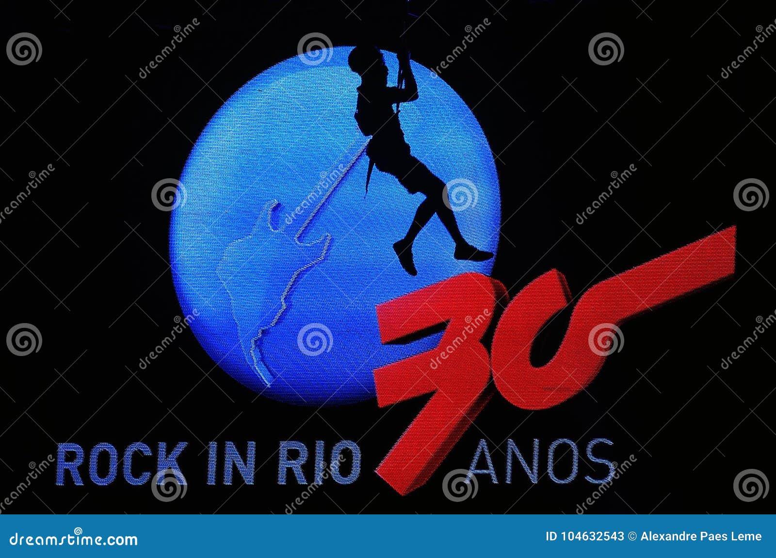 Download Rots in Rio 2015 redactionele stock foto. Afbeelding bestaande uit mens - 104632543