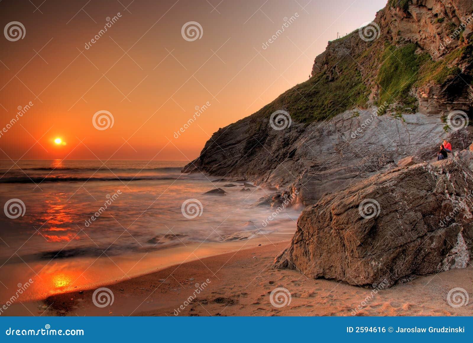 Rotsachtige kust