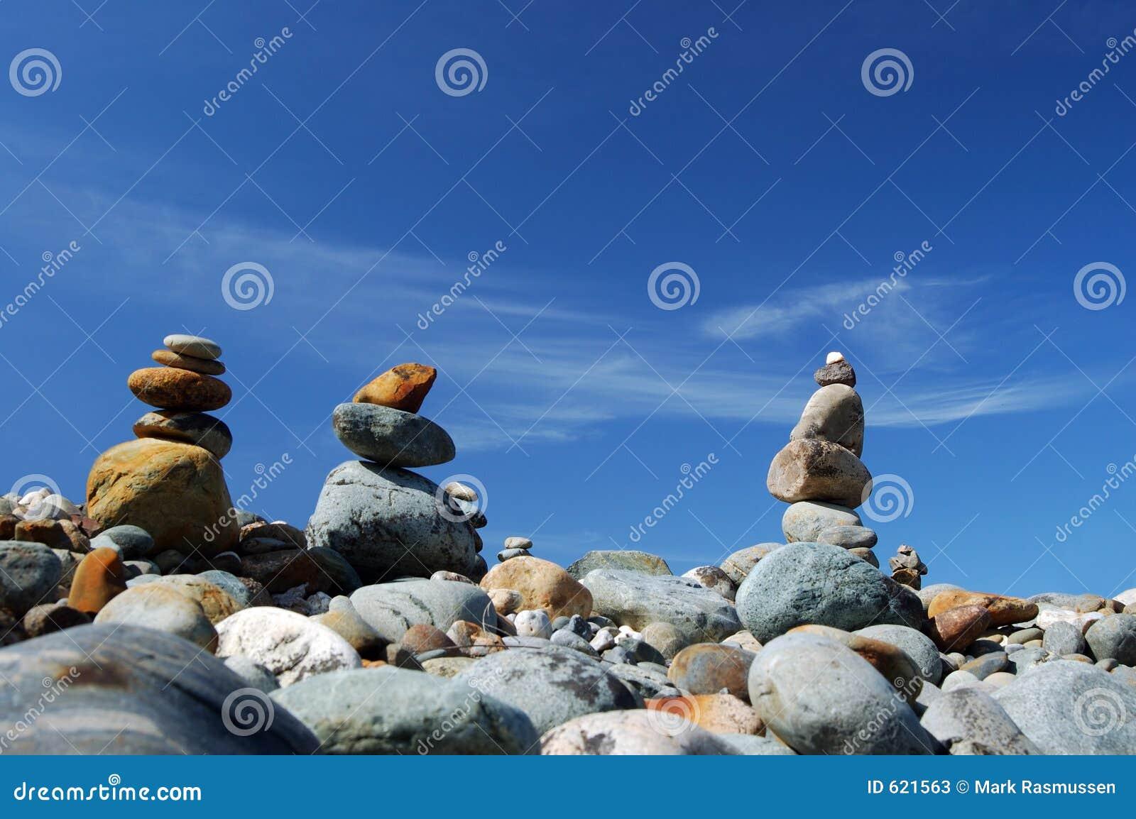 Rotsen in het saldo