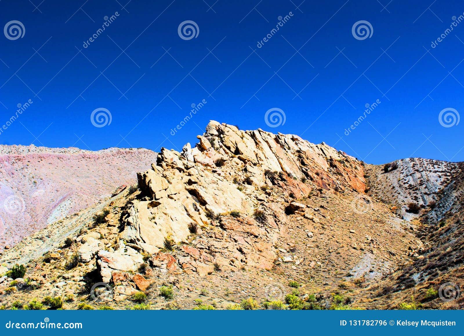 Rotsen van het dinosaurus de Nationale Monument