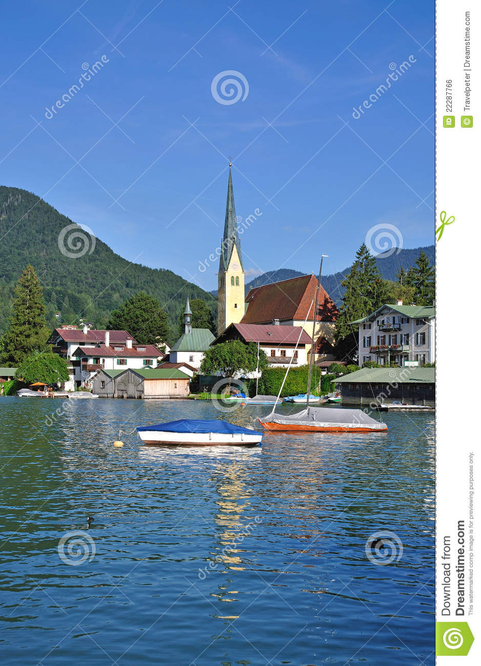 Tegernsee Germany  City new picture : Rottach Egern,Lake Tegernsee,Germany Royalty Free Stock Image Image ...