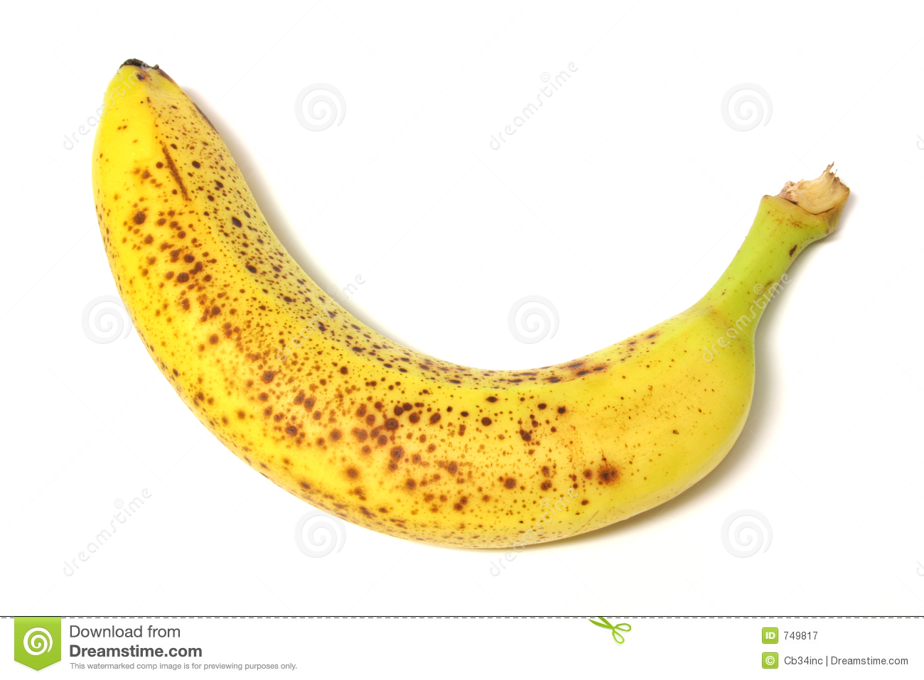 Rotten Banana 1 Royalty Free Stock Photography - Image: 749817