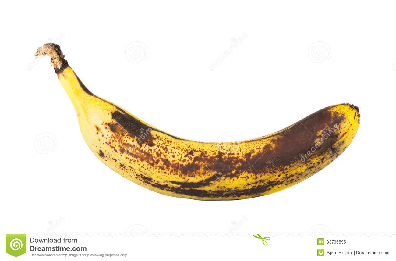 Rotten Banana Royalty Free Stock Photo - Image: 33796595