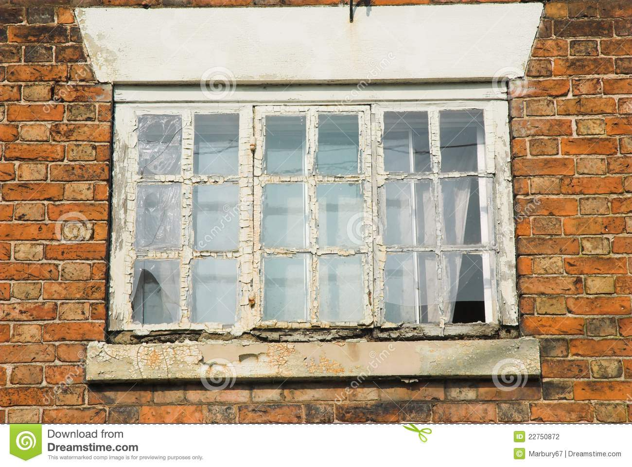 Rotten Window Frame Stock Photography Image 22750872