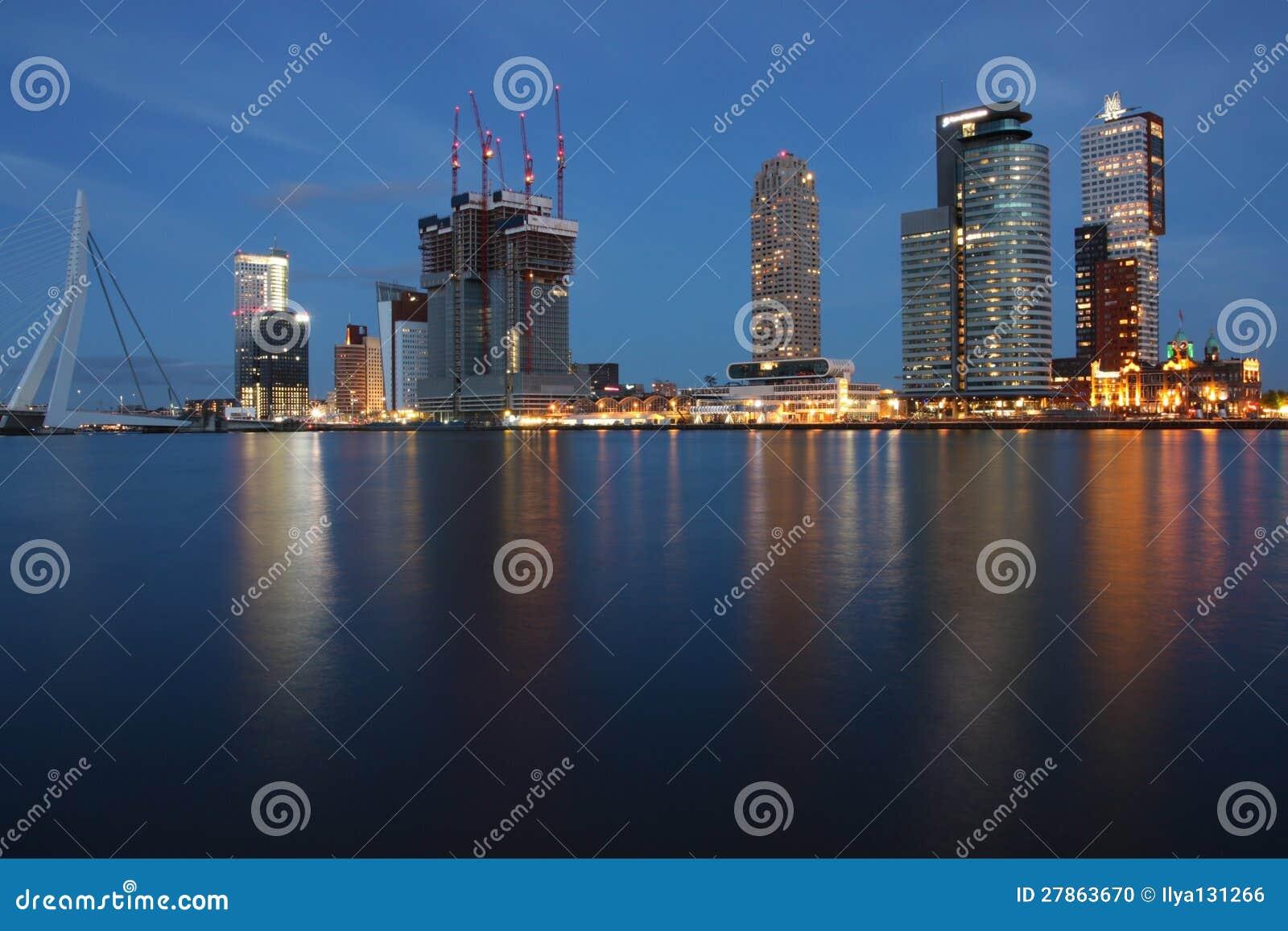 Rotterdam linia horyzontu