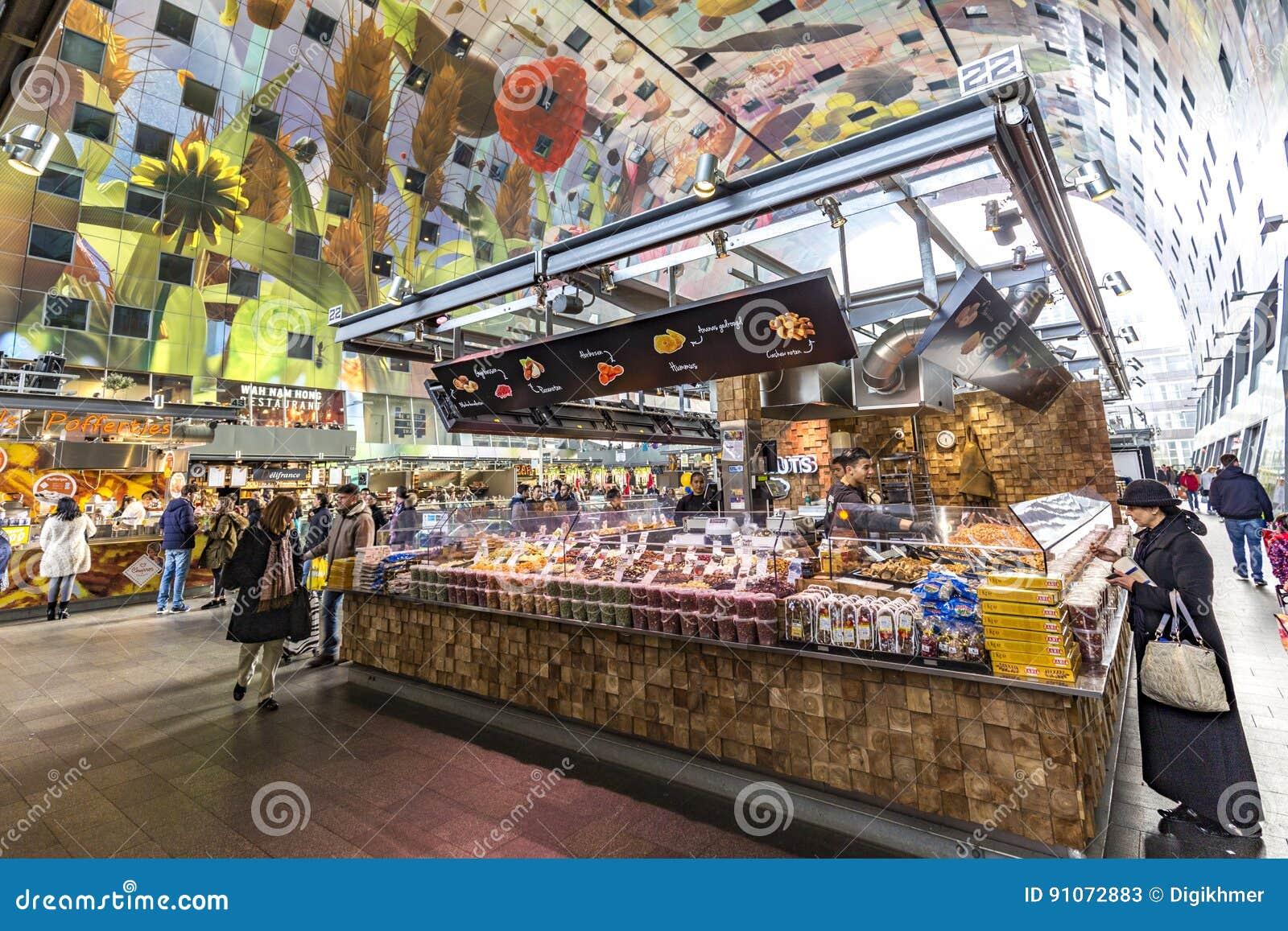 Rotterdam Market Hall building