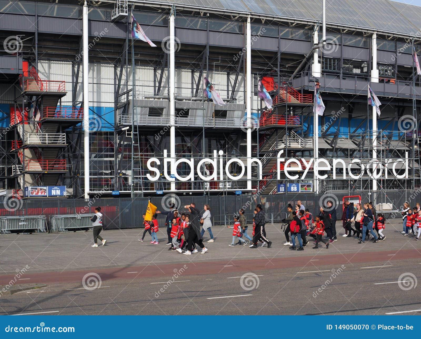 Feyenoord Stadium De Kuip In Rotterdam Netherlands Editorial Image Image Of Soccer Sport 149050070