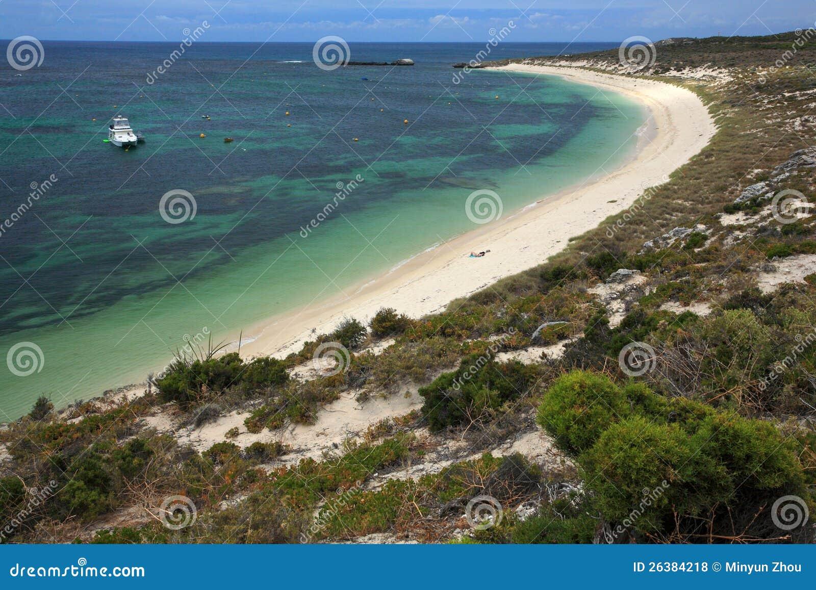 Rottnest ö, västra Australien