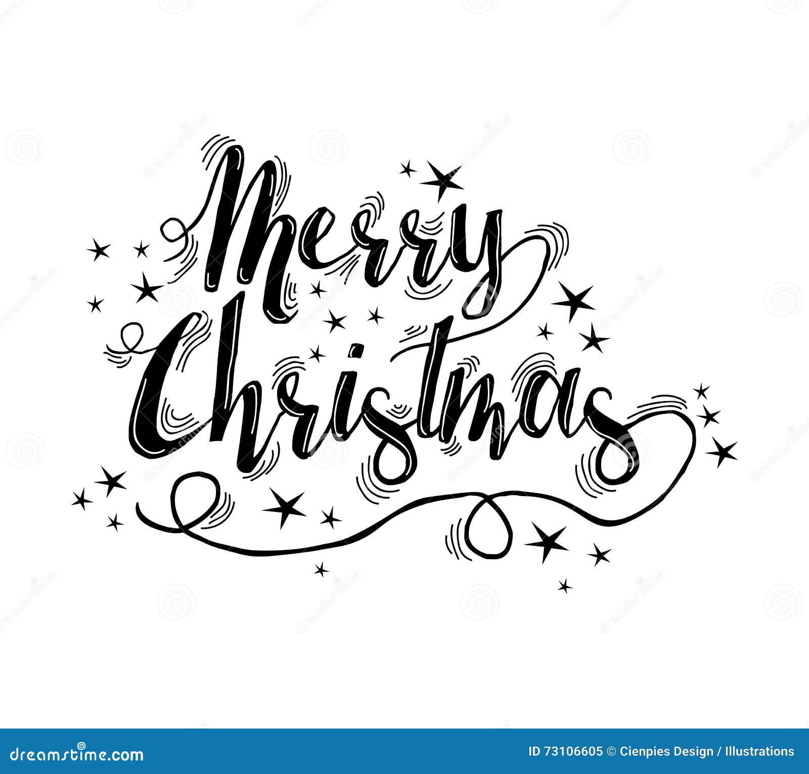 Rotulação das citações do Feliz Natal com estrelas