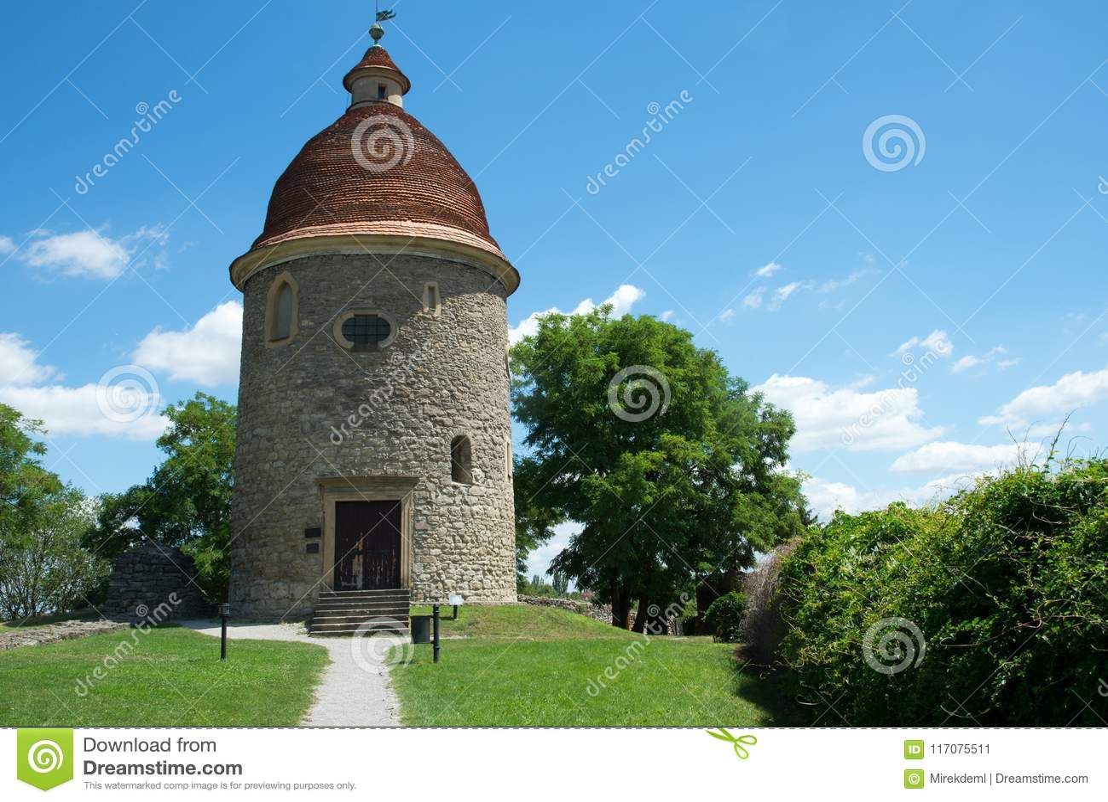 Rotunda in the Skalica, Slovakia