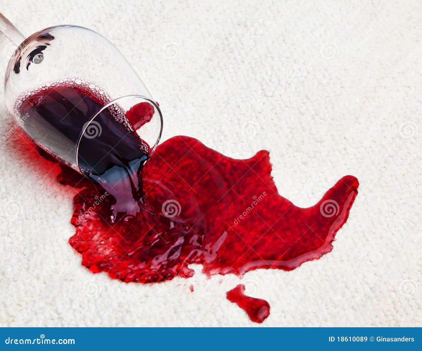 rotwein versch ttet auf teppich. Black Bedroom Furniture Sets. Home Design Ideas