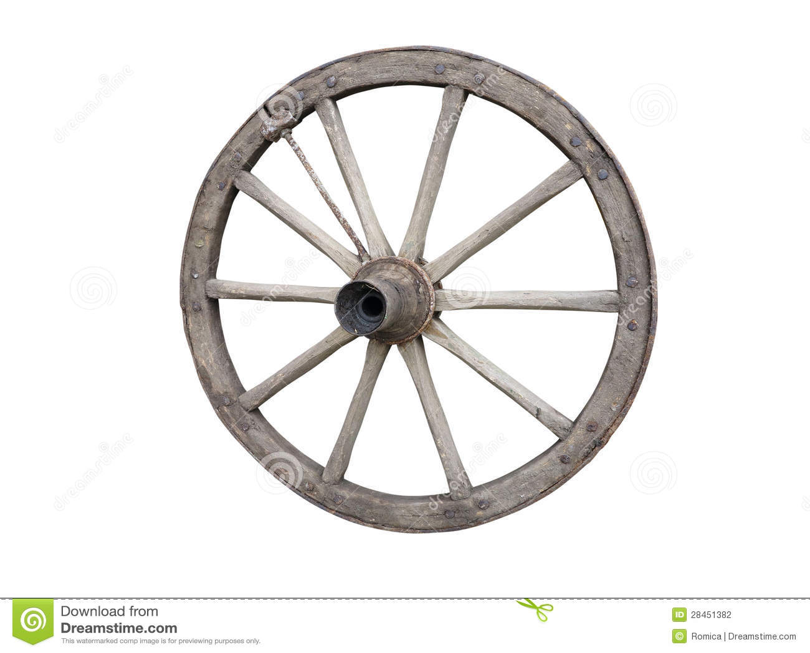 roue antique de chariot faite de bois et fer ray e d. Black Bedroom Furniture Sets. Home Design Ideas