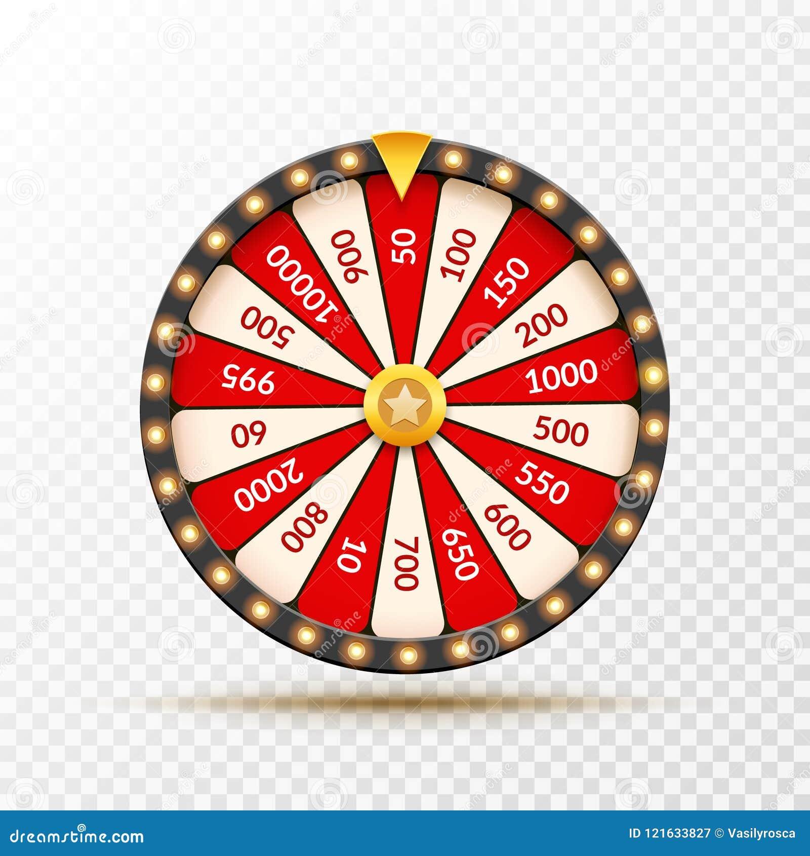 Roue D Illustration De Chance De Loterie De Fortune Jeu De