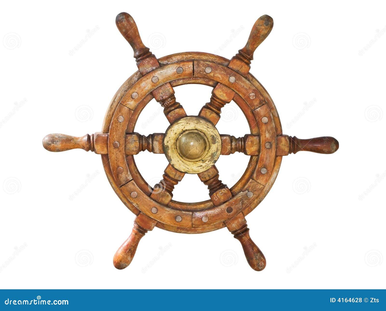 Roue de bateau photos libres de droits image 4164628 - Bateau sur roues ...