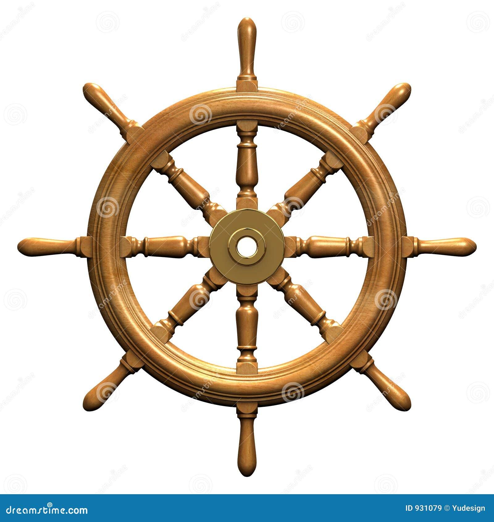 Roue de bateau images libres de droits image 931079 - Bateau sur roues ...