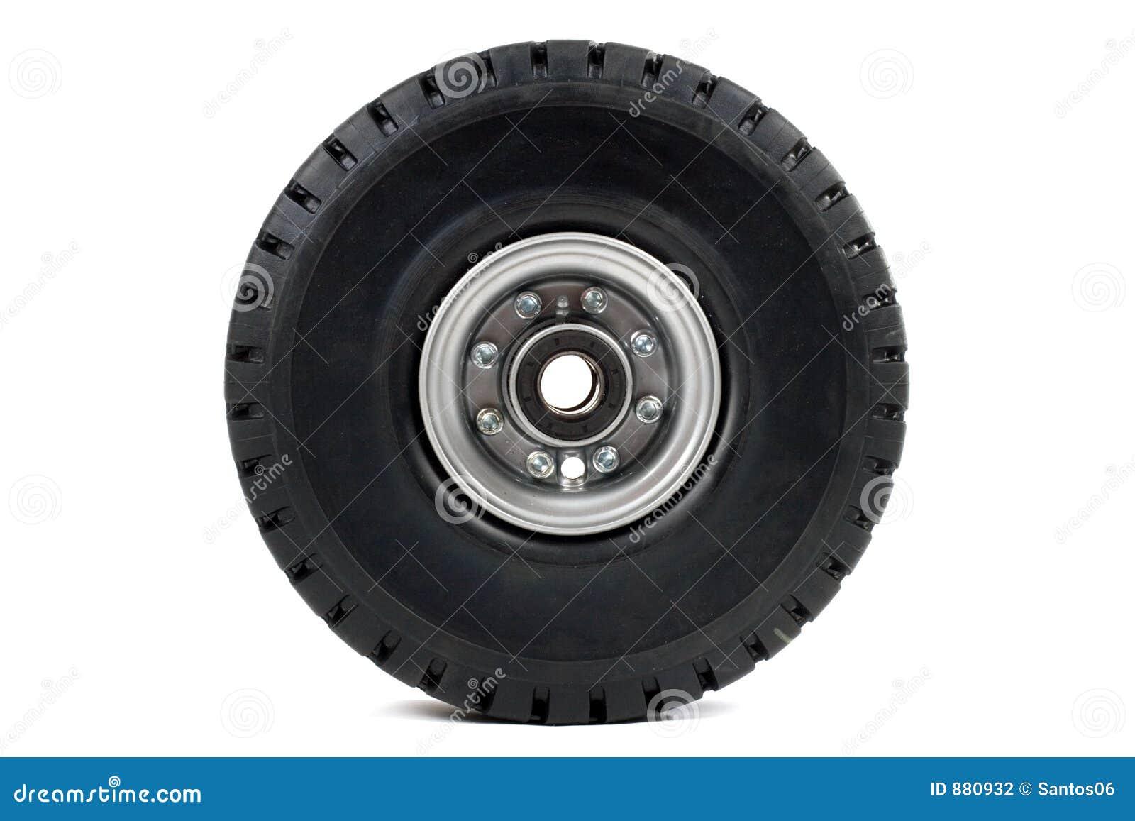 roue de chariot l vateur photo stock image du noir neuf. Black Bedroom Furniture Sets. Home Design Ideas