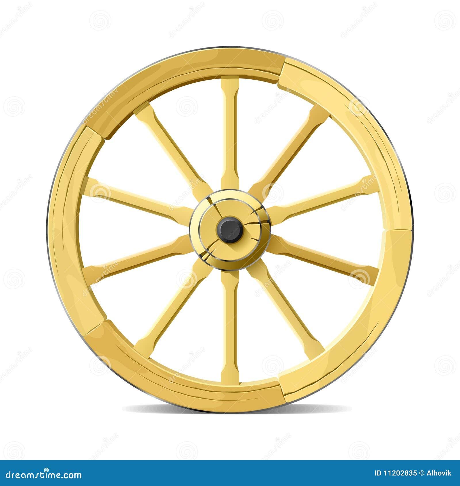 roue de chariot illustration de vecteur illustration de. Black Bedroom Furniture Sets. Home Design Ideas