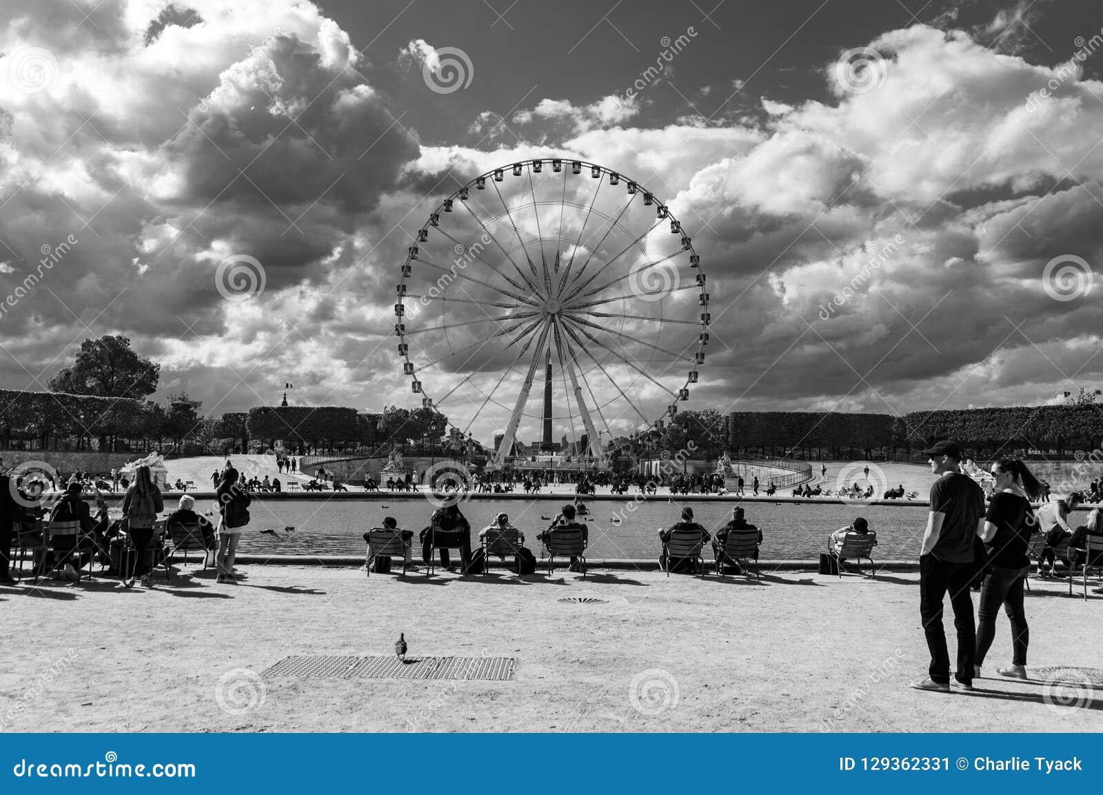 Roue de Paris - Ferris Wheel, Paris