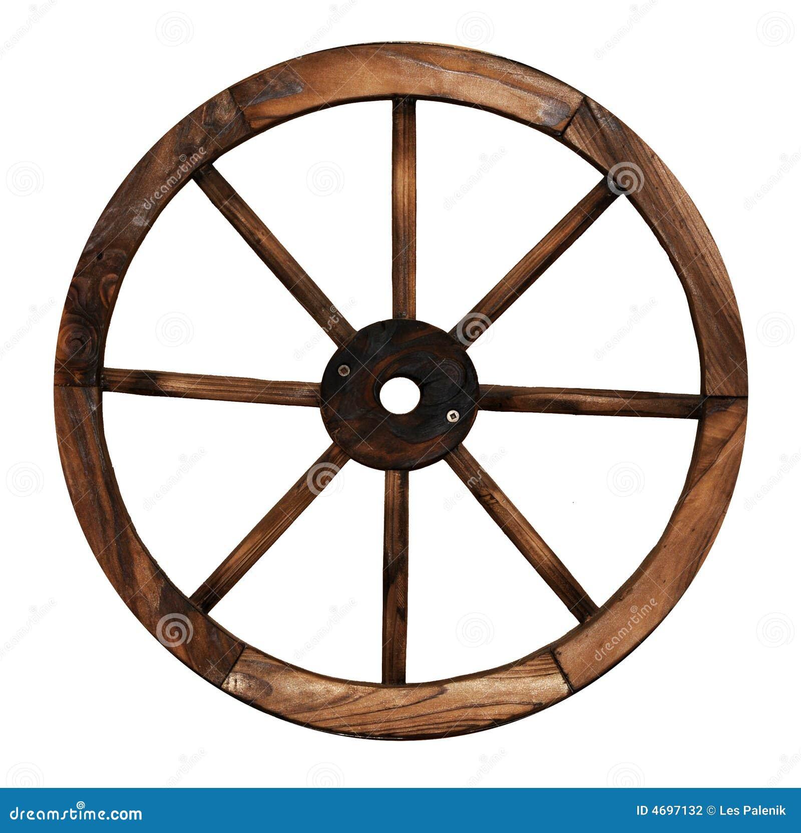 roue en bois de chariot photographie stock image 4697132. Black Bedroom Furniture Sets. Home Design Ideas