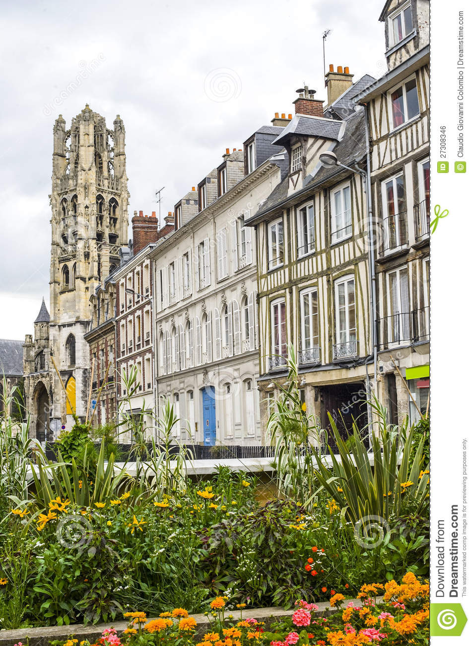 Rouen royalty free stock image image 27308346 for Haute normandie rouen